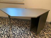 Schreibtisch Alu gebürstet sehr guter
