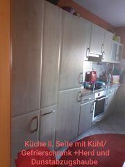 Küche groß mit allem Zbh