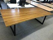 Schreibtisch Konferenztisch Eiche Massiv