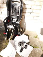 Schwarz-grauer Römer Fahrrad-Kindersitz Jockey COMFORT 9-22