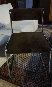 Stuhl Chrome Polsterung