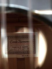 Conde Hermanos Flamenco Gitarre Baujahr