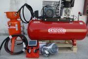 Sandstrahler CB 24 Mit Kompressor