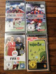 4 x PSP Spiele