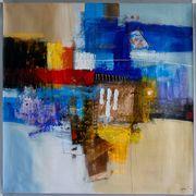 Großes neues BALI-Gemälde Vielfarbige abstr