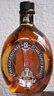 ALTER WHISKY Marke DIMPLE 35