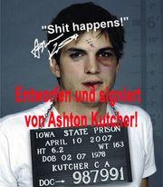 ASHTON KUTCHER Knast Foto Originalfoto