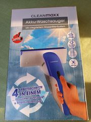 Clean Maxx Fenster Akku-Waschsauger sehr