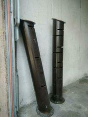 dekorative Regal Säulen aus Eisen