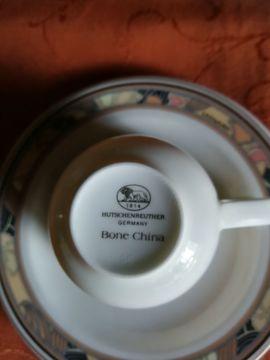 Glas, Porzellan antiquarisch - Hutschenreuther Espresso Sammeltasse Bone China