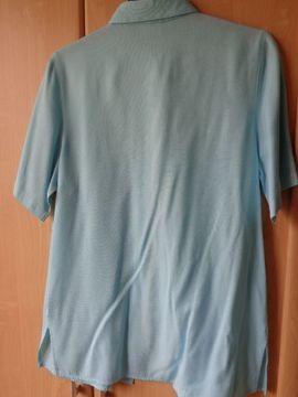 Damenbekleidung - Vintage Kurzarm-Bluse Bluse länger Gr