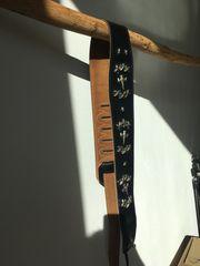 Gitarrengurt Leder