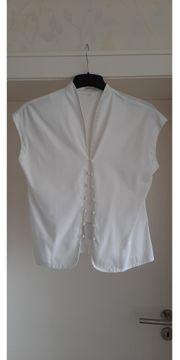 Weiße Bluse Damen Gr 40