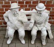 Gartenfigur Stan Laurel Oliver Hardy