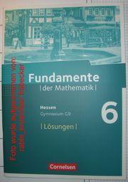 Fundamente der Mathematik 6 Hessen