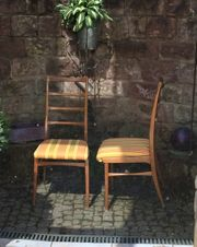 2 x Esszimmerstühle Stühle Vintage