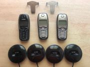 3 Stck Gigaset SL1 Dect-Telefone