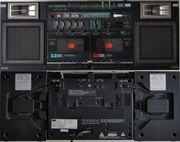 Vintage Gettoblaster Boombox Sansui CP-55W