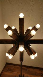 Industrie Design Lampe Leuchte Weihnachtsstern