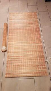 Holzrollo 215 cm x 80