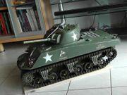 RC Sherman Panzer rarer Benziner