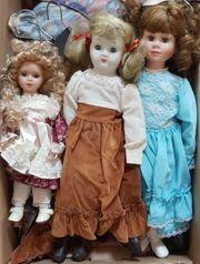 5 antike Puppen 30 Jahre