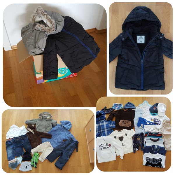 Jungs Kleidung 74-92 Marken enthalten