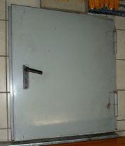 Metalltür Heizungstür Sicherheitstür Feuertür 80x80