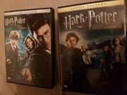 Zwei gebrauchte Harry Potter Filme