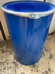 220 Liter Metallfass mit Deckel -