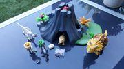 Playmobil Triceratops mit Baby und