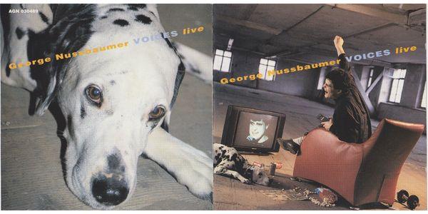 CD George Nussbaumer - VOICES live