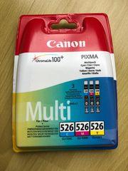 Canon CLI-526 Multipack Original Druckerpatronen