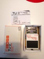 Effektpedal Stimmgerät BOSS TU-2 Chromatic