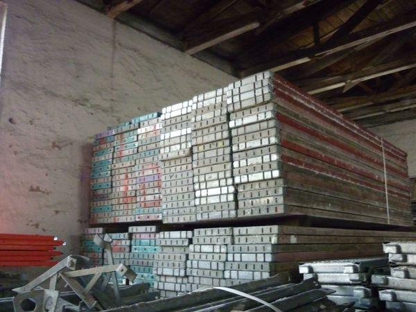 158 m² Gerüst Plettac Gebrauchtes