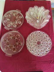 Tortenplatten aus Glas