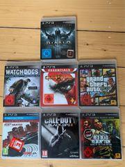 PS3 Spielesammlung 7 Spiele