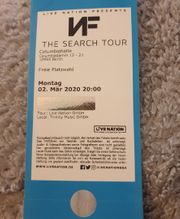 NF Koncert tickets in berlin