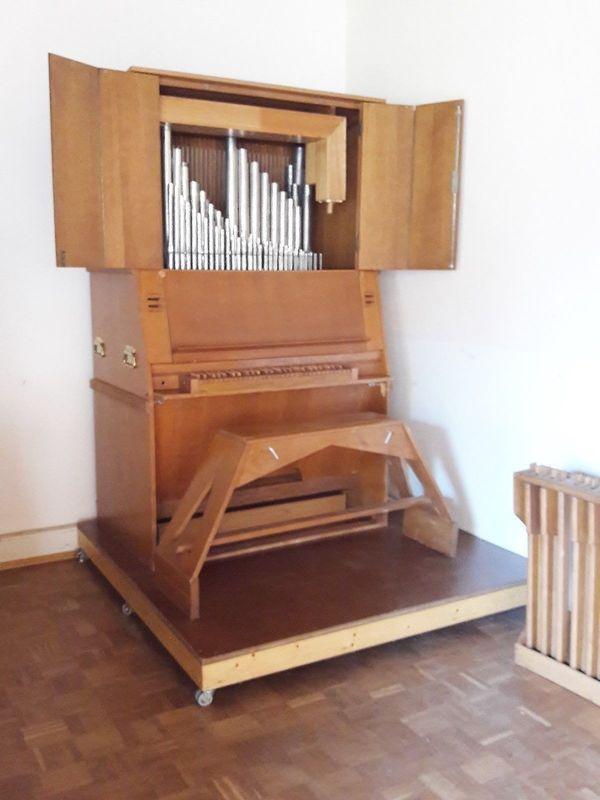 Orgel Pfeifenorgel Orgelpositiv Kirchenorgel