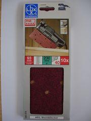 LUX Schleifpapier 93mm x 23mm