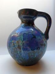 Majolika Marei Keramik Blumenvase Kanne