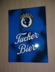 Blechschild Brauerei Tucher
