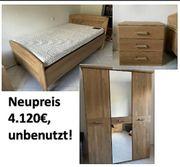 Schlafzimmer-Ausstattung - wildeiche