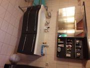 Badverbau mit Wasserhahn