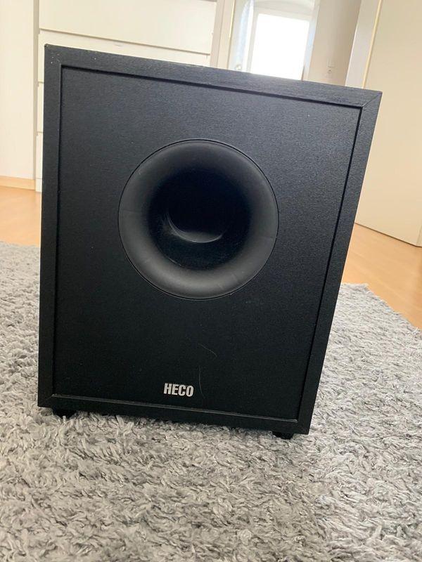 verkaufe Lautsprecher und subwoofer