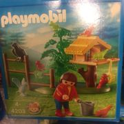 Playmobil Vogelfütterung wie NEU