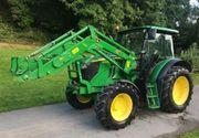John Deere 6100 MC Traktor