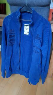 Weste Jacke blau Tom Tailor