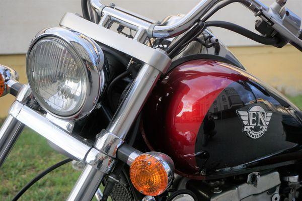 Motorrad Chopper Kawasaki 500ccm gebraucht