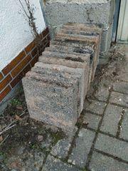 Zu verschenken Betonplatten